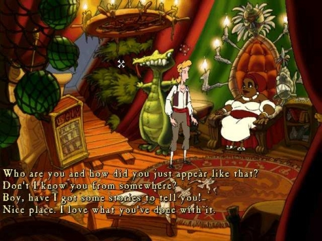 With its classic gameplay and timeless humour, The Curse of Monkey Island is recommended.