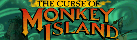 Title - The Curse of Monkey Island