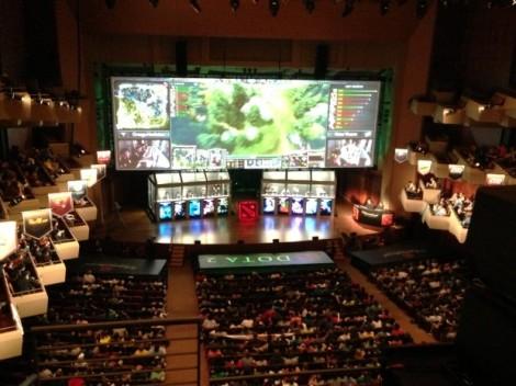 The International annual Dota 2 tournament, a prestigious gaming event.