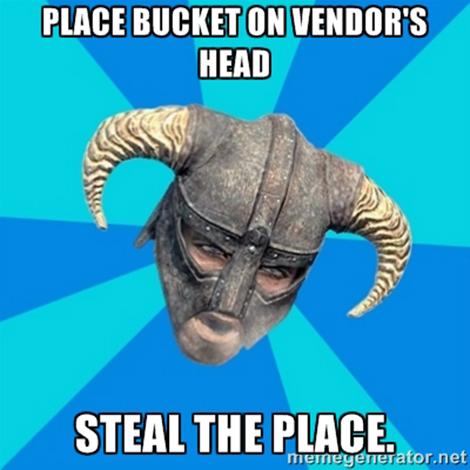 Image 2 - Top 5 memes Skyrim