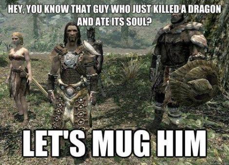 Image 3 - Top 5 memes Skyrim