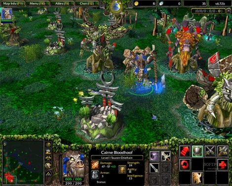 Exi began playing MOBA games with DotA, a mod for Warcraft III.