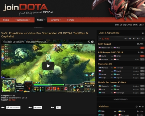 One way of learning to play is by watching the professionals. Exi recommends JoinDota.com