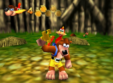 Banjo Kazooie has been re-released for the Xbox One. Image credit: Justin Taylor.