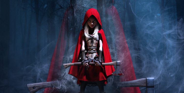 Feaured - Woolfe - The Red Hood Diaries