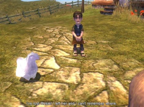 Molyneux said children would be significant in Fable, but this feature was missing.
