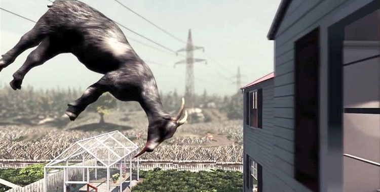 Featured - Goat Simulator